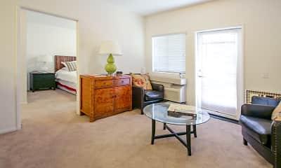 Living Room, Harbor Grove Senior Apartments 55 Plus Community, 1