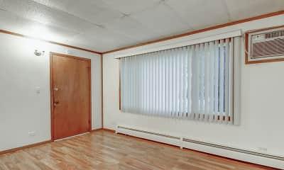 Living Room, Park Ridge Apartments, 2