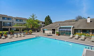 Pool, Regency Club Townhomes & Apartments, 1