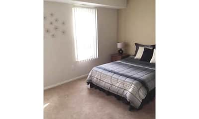 Bedroom, Northridge Meadow Apartments, 2