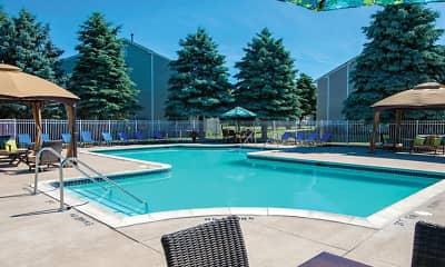Pool, Waterford Pines, 1