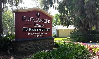 Community Signage, Buccaneer Trace, 1