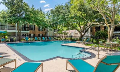 Pool, Silverado Apartments, 0