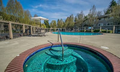 Pool, Creekside Apartments, 1