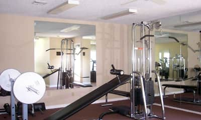 Fitness Weight Room, Melrose On The Bay, 1