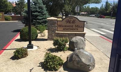Community Signage, Washoe -Mill Apartments, 1