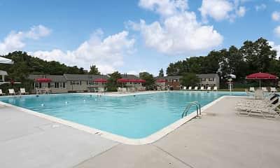 Pool, Seven Oaks Townhomes, 0