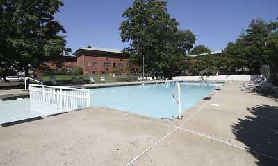 Pool, Cedar Lane, 1
