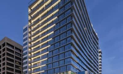 Building, 3033 Wilshire, 1