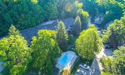 Pool, Timberland Village Apts, 0
