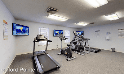 Fitness Weight Room, Bradford Pointe Apartments, 2