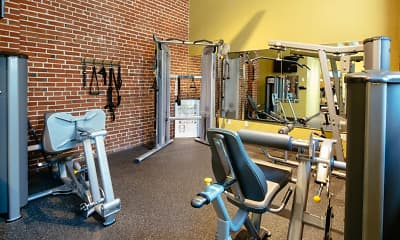 Fitness Weight Room, Lofts at Lafayette Square, 2