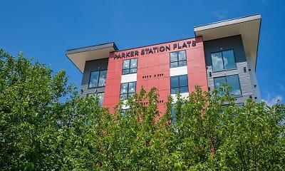Building, Parker Station Flats, 1