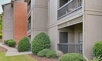 Building, Lecraw Apartments, 1