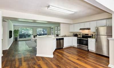 Kitchen, Peachtree Park Apartments, 1