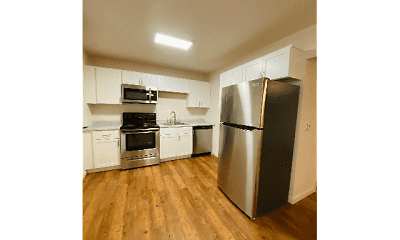 Kitchen, Central Flats, 1
