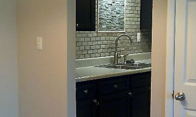 Kitchen, Sutters Mill Apartments, 1
