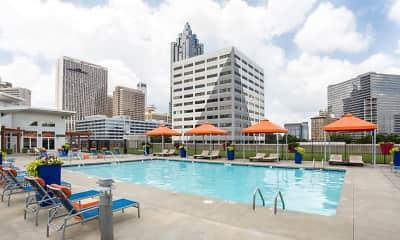 Pool, Skyline ATL, 0