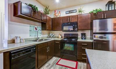 Kitchen, Mountainside Apartments, 1