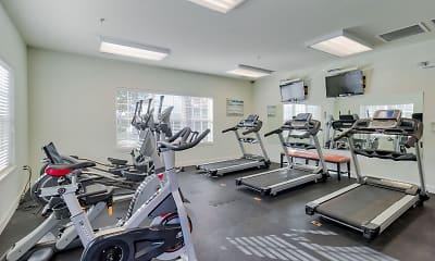 Fitness Weight Room, Centennial Village, 0