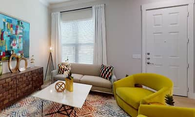 Living Room, The Mansions of Prosper, 2