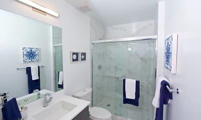 Bathroom, Brickel West City Rentals, 2
