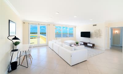 Living Room, The Ambassador Palm Beach, 2