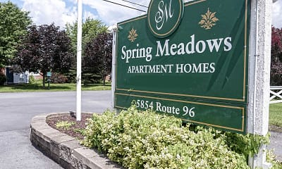 Community Signage, Spring Meadows, 2