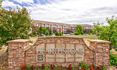 Community Signage, Hearthstone Apartments And Townhomes, 2