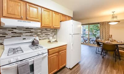 Kitchen, Chesterfield Apartments, 1