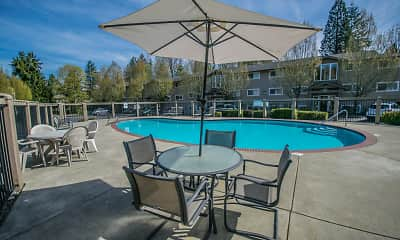 Pool, Creekside Apartments, 0