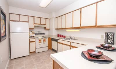 Kitchen, River Park Tower Apartment Homes, 1