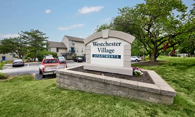 Community Signage, Westchester Village, 2