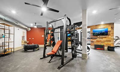Fitness Weight Room, Canyon Springs, 2
