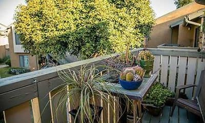 Patio / Deck, Mile Square Apartment Homes, 2