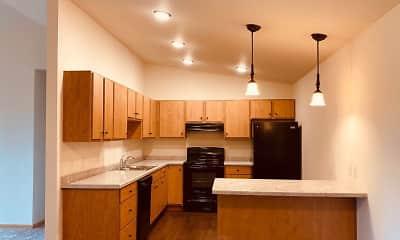 Kitchen, Moon Lake Estates, 0