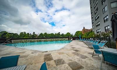 Pool, The Avenue at East Falls, 1