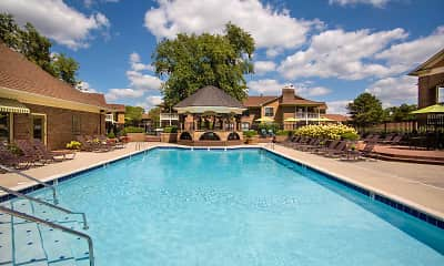 Pool, Willow Lake Apartments, 1