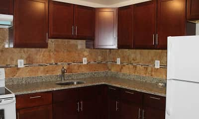 Kitchen, Washington Towers Apartments, 0