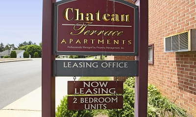 Community Signage, Chateau Terrace Apartments, 2