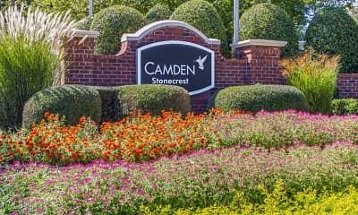 Community Signage, Camden Stonecrest, 2