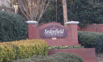 Community Signage, Sedgefield Apartments, 2