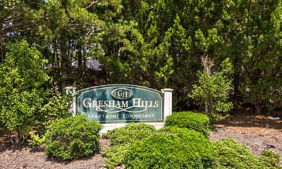 Community Signage, Gresham Hills, 2
