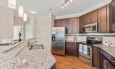 Kitchen, The Village Lofts At North Elm, 0