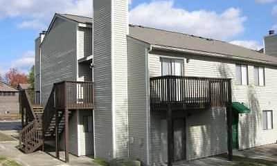 Building, Cedar Creek Apartments, 1