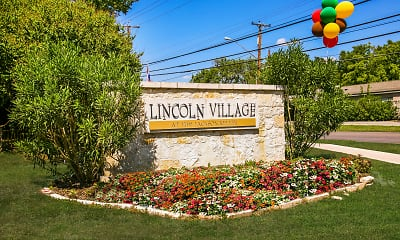 Community Signage, Lincoln Village, 2