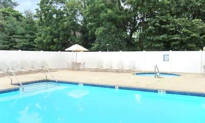 Pool, Waters Edge Apts, 2