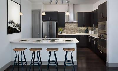 Kitchen, Camden Highland Village, 1