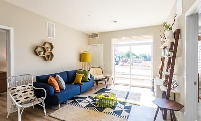 Living Room, Residences at Bentwood, 0