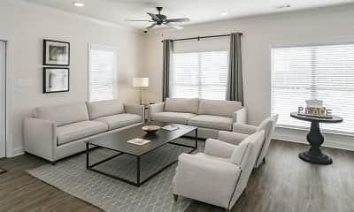 Living Room, Jasper Village, 1